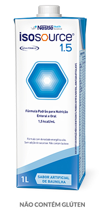 Isosource 1.5 Baunilha - Tetra Square 1L